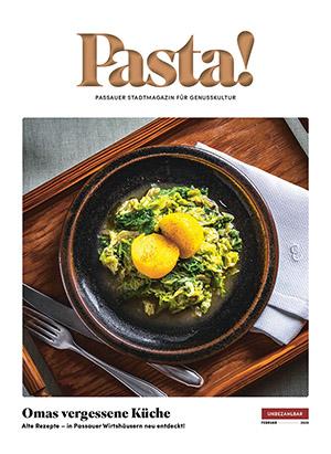 Pasta! Februar 2020 Titelseite