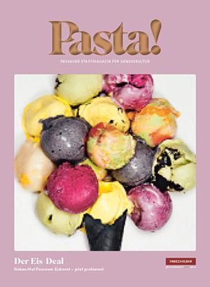 Pasta! Passauer Stadtmagazin | Ausgabe Juli/August 2018