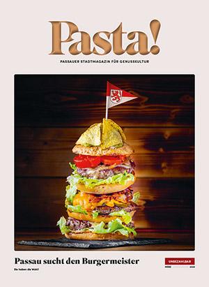 Pasta! März 2020 Titelseite