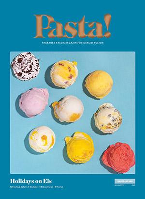 Pasta! Titelseite Juli-August 2020