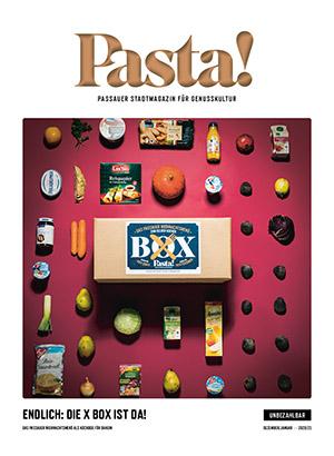 Pasta! Dezember 2020 Titelseite