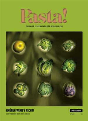 Pasta! Cover September 2021